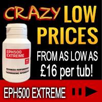 EPH500 Extreme Fatburner SALE!