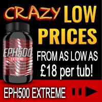 EPH500 Extreme Fatburner Capsules SALE!